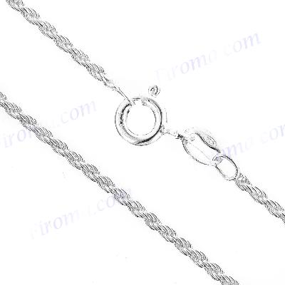 Singapore 025 1.4 mm Italy Chains Sterling Silver 925 Necklaces Jewelry 16 in